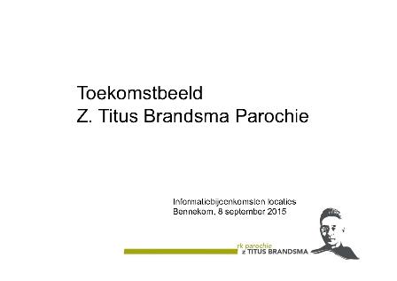 Toekomstbeeld ZTBP Bennekom 2015-voorblad-kl